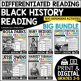 Black History Month Reading Passages - Differentiated Reading