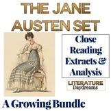 Jane Austen Close Reading Passages Bundle