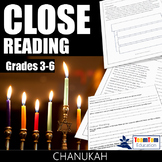Close Reading Passages - Chanukah (Hanukkah)