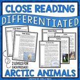 Arctic Animals Reading Comprehension Passages - Close Reading