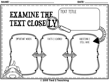 Close Reading Passages (Inventions)