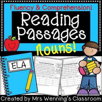 Close Reading Passages (Nouns)!