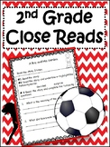 Close Reading Passages for 2nd Grade