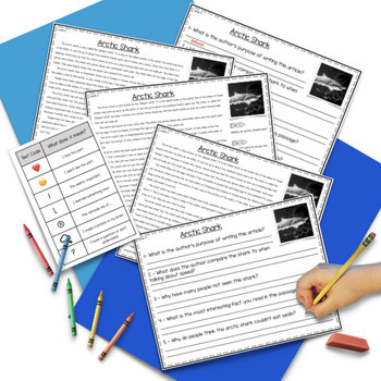 Close Reading Passages for Second, Third, and Fourth Grade - Unit 6 of 10