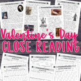 Close Reading Passages for Valentine's Day {Grades 4-8}