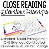 Literature Close Reading Passages