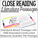 Literature Close Reading Passages