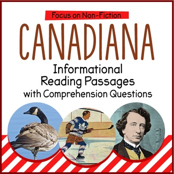 Canadian History Reading Passages