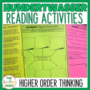 Hundertwasser! Close Reading Comprehension Passages and Questions US NZ