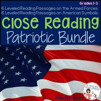 Close Reading Patriotic Bundle