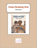 Close Reading - Pink and Say (TEKS Aligned)