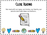 Close Reading Planning Page