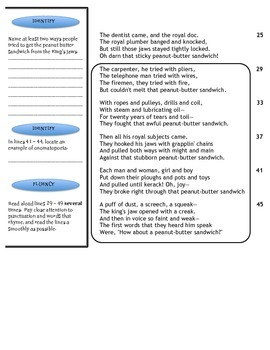 Close Reading - Poetry