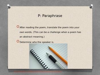 Close Reading :Poetry Analysis