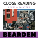 Close Reading Poetry and Art - Black Manhattan -Bearden - Unit #5 Primary Grades