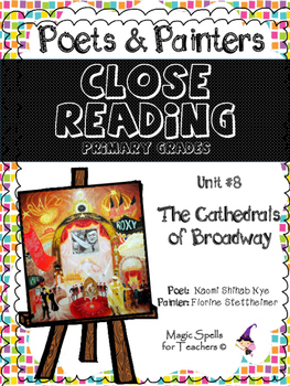 Close Reading Poetry and Art-Cathedrals of Broadway-Stettheimer-Unit8 Primary Gr