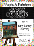 Close Reading Poetry and Art - Early Sunday Morning - Hopper- Unit #4 Primary Gr