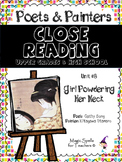 Utamaro -Close Reading Poetry and Art -Girl Powdering Her Neck -Unit #8 JHS& HS