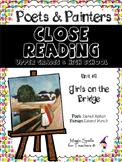 Edvard Munch -Close Reading Poetry & Art - Girls on the Bridge- Unit #6 JHS & HS