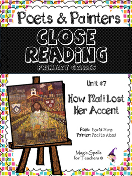 Close Reading Poetry and Art -How Mali Lost Her Accent- Ab