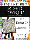 Jackson Pollock - Close Reading Poetry & Art Unit - Unit #