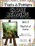 Close Reading Poetry and Art - The Fall of Icarus - Brueghel - Unit # 5 JHS & HS