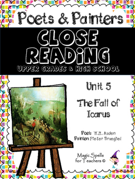 Close Reading Poetry and Art - The Fall of Icarus - Bruegh
