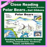 Close Reading: Polar Bears by Gail Gibbons