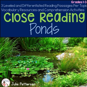 Close Reading Ponds