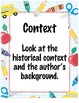 Close Reading Posters - What to Look For in Close Reading