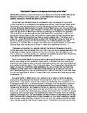 Close Reading Practice/ AP English Language