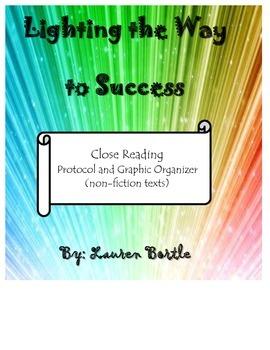 Close Reading Protocol and Graphic Organizer
