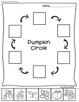 Pumpkins Close Reading: Pumpkin Circle