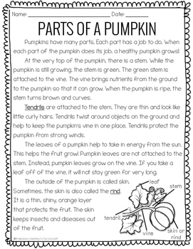 Close Reading: Pumpkins