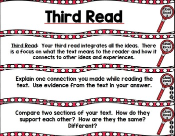 Close Reading Question Fans