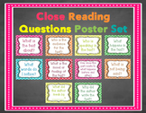 Close Reading Question Posters