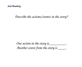 Close Reading Question Slides for Officer Buckle and Gloria