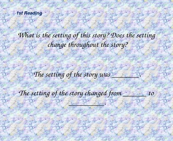 Close Reading Question Slides for Super Storms