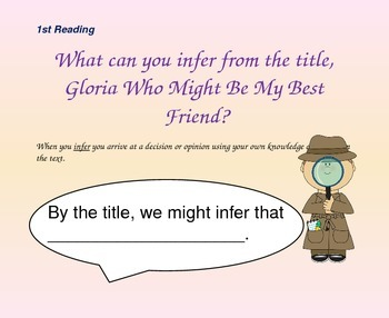 Close Reading Questioning Slides for Stories Julian Tells