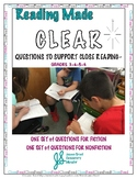 Close Reading Questions for Fiction and Nonfiction