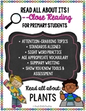 "Close Reading ""Read All About Its"" - PLANTS pack"