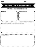 Close Reading: Read Like A Detective-Non-Fiction Text Anal