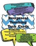 Close Reading - Reciprocal Teaching Reading Task Cards