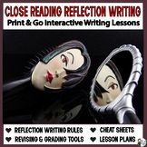 Close Reading Reflections: A Journaling, Annotating, and Text Analysis Unit