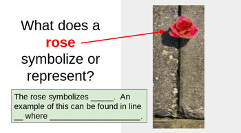 Close Reading-Resilience & Perseverance Lesson-The Rose ...