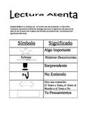 Close Reading Resource- Spanish