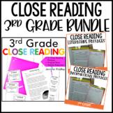 3rd Grade Close Reading BUNDLE