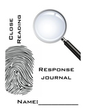 Close Reading Response Journals