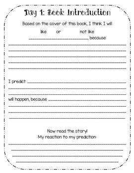 Close Reading Response Journals