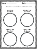 FREE Close Reading Graphic Organizer